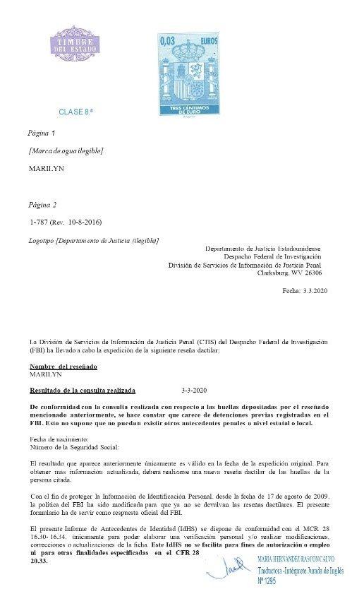 traducción jurada de inglés en novaextranjería